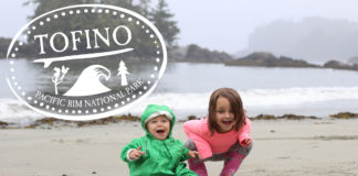 tofino family beach vacation