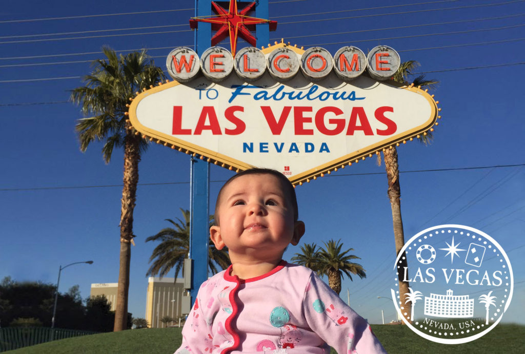 las vegas with a baby