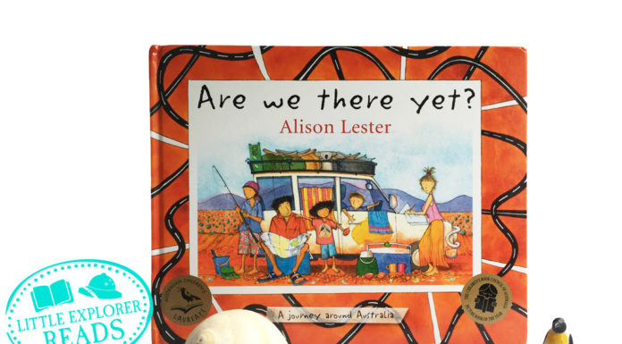 are we there yet? by alison lester - a journey around australia