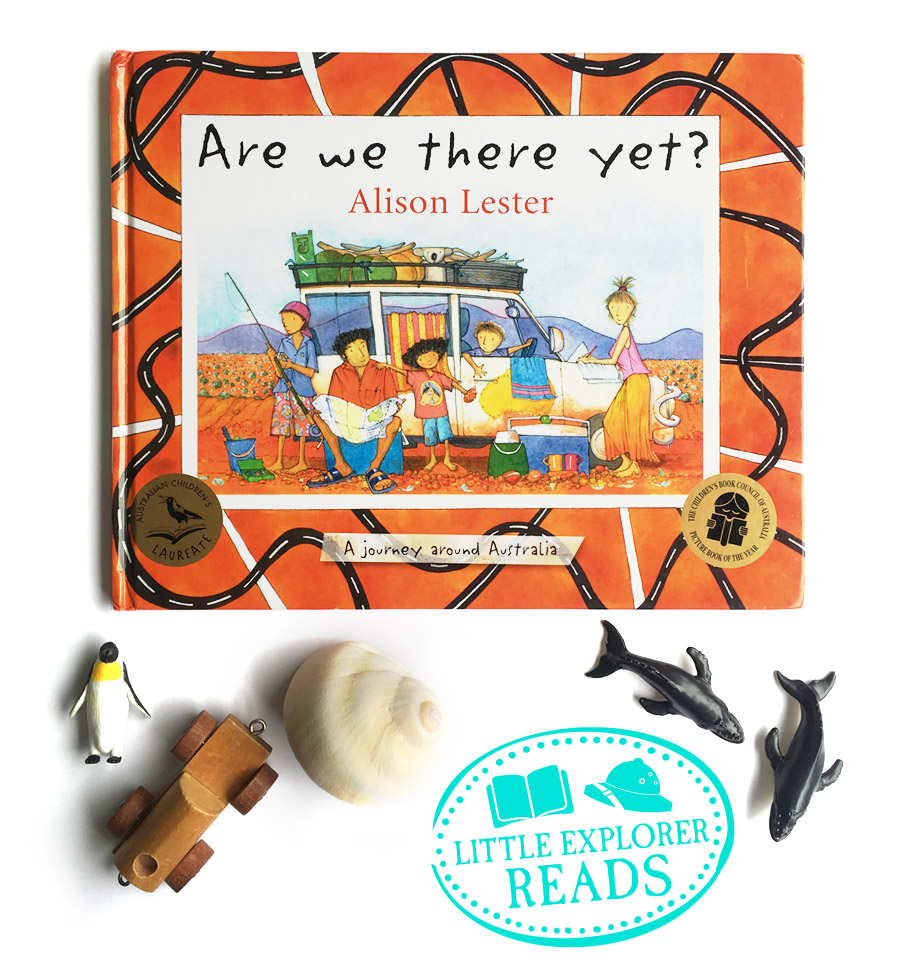 Are we there yet? a journey around australia, by alison lester, book review
