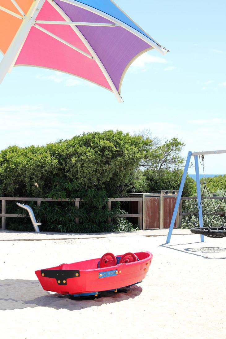 beachside playground carrum beach melbourne australia