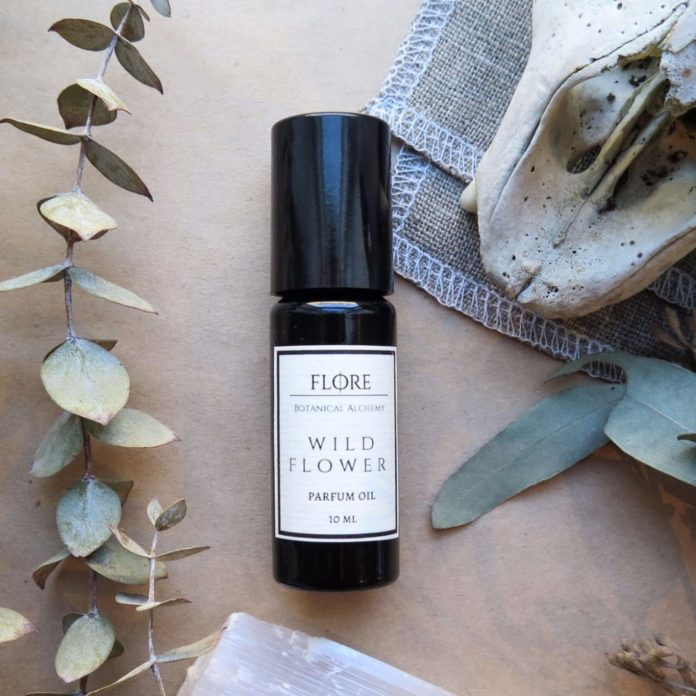 flore wildflower botanical perfume oil