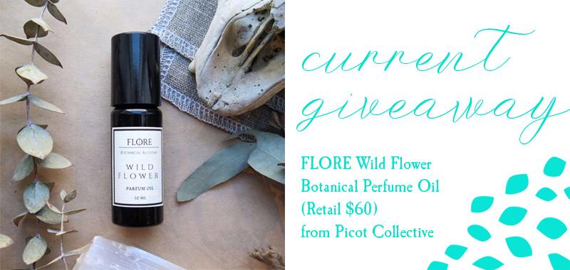 flore wild flower botanical perfume oil prize