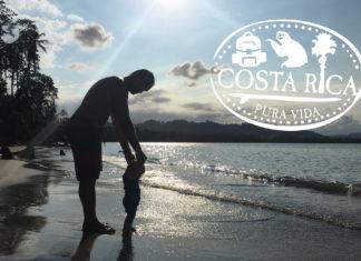 pura vida costa rica family beach holiday with baby