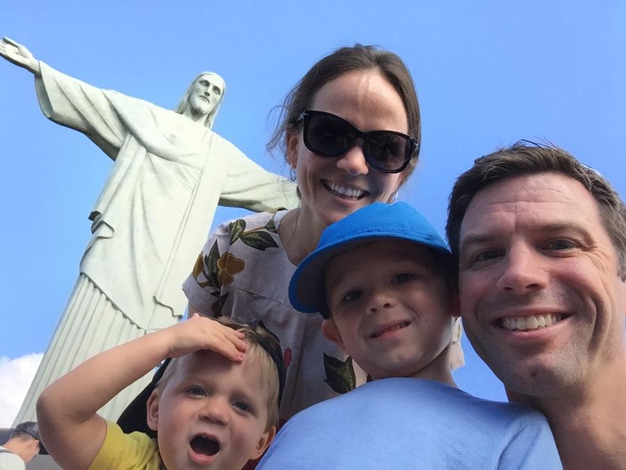 rio de janeiro brazil family vacation christ the redeemer