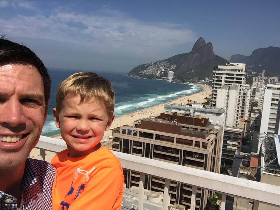rio de janeiro brazil kids travel ipanema beach