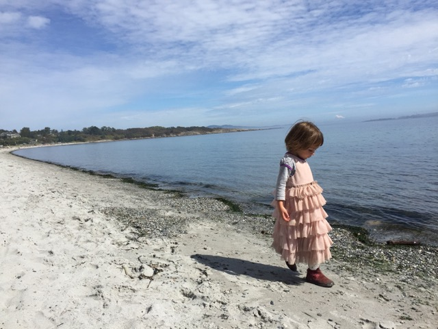 peaceful parenting toddler beach little explorer vancouver island