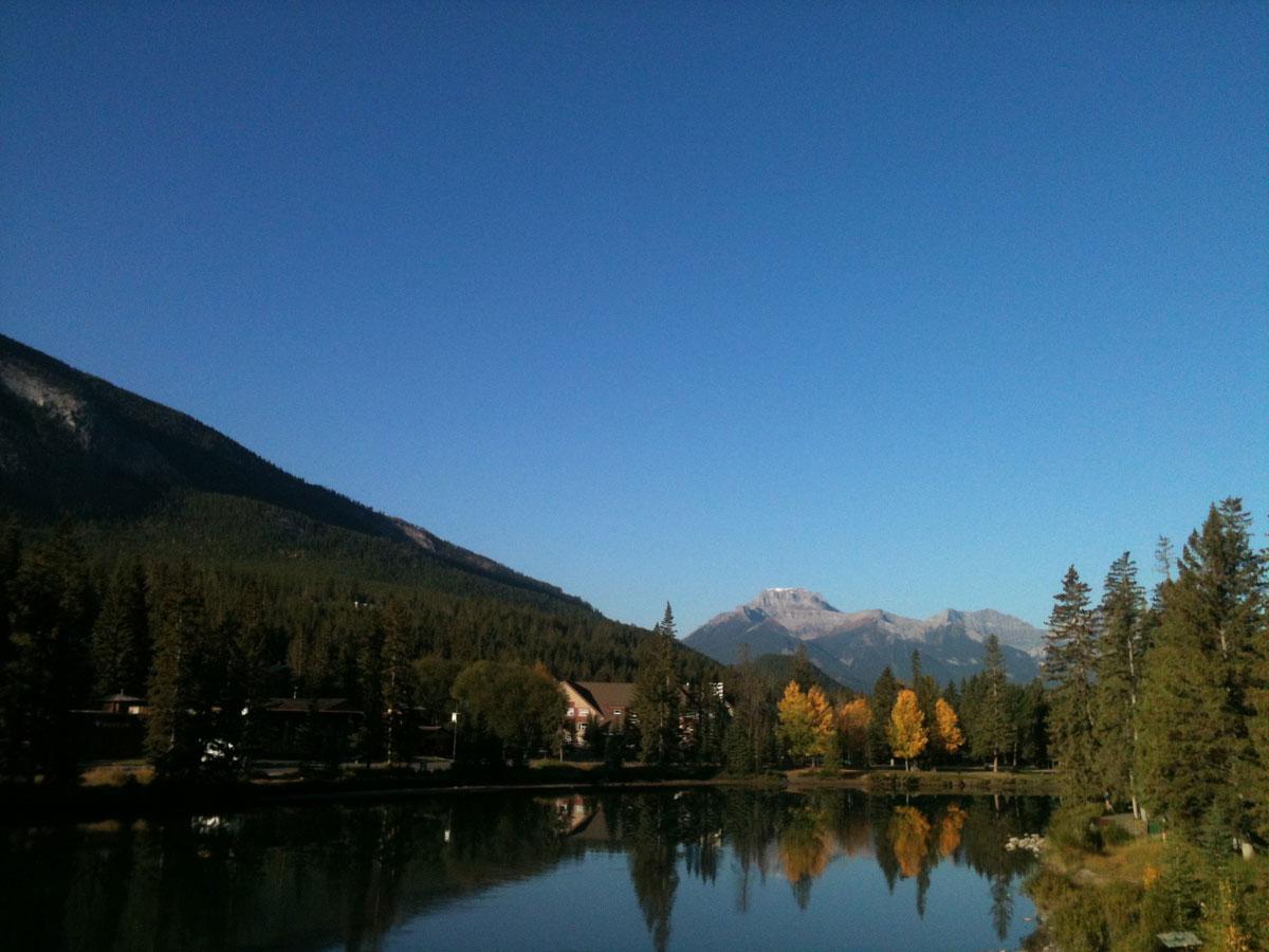 bow valley banff alberta canada rocky mountains family holiday