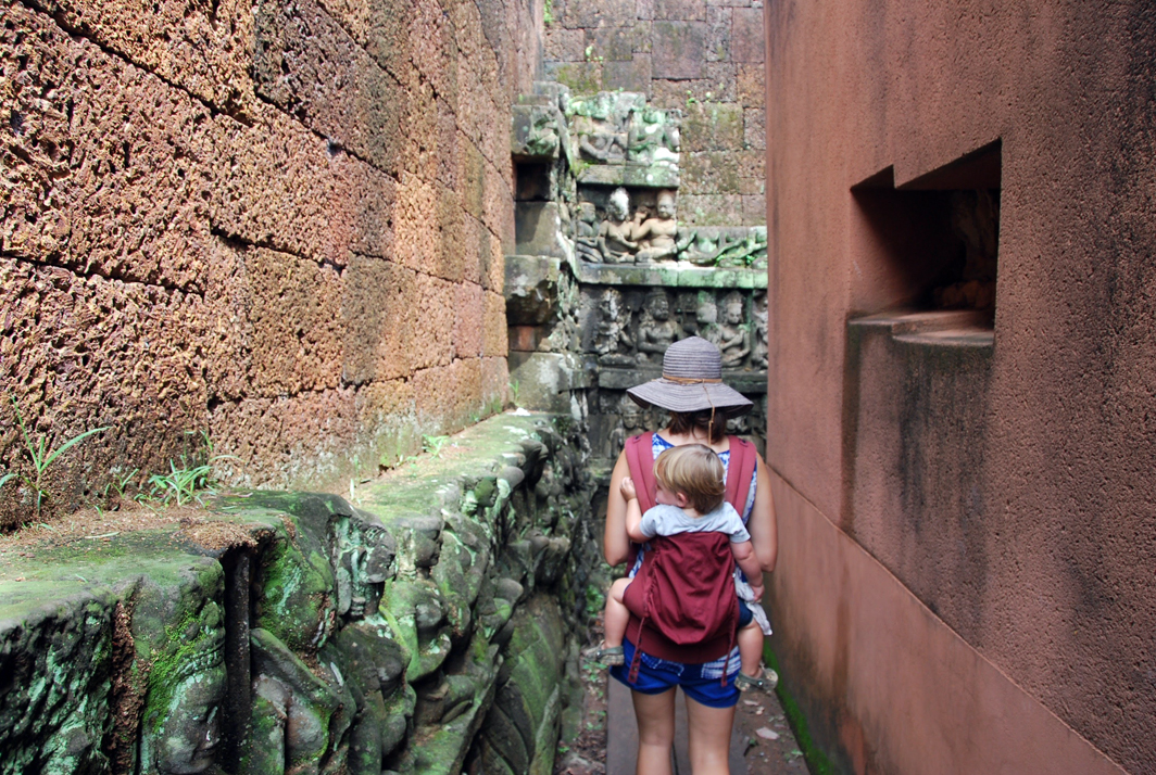 backpacking with kids cambodia angkor wat temple