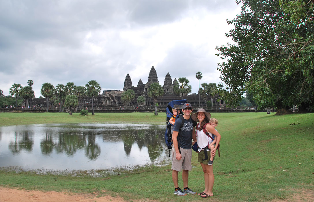 cambodia backpacking with kids angkor wat siem reap family