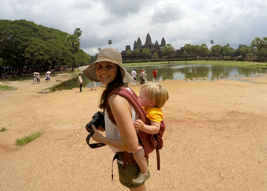 siem reap angkor wat cambodia kids family backpacking trip