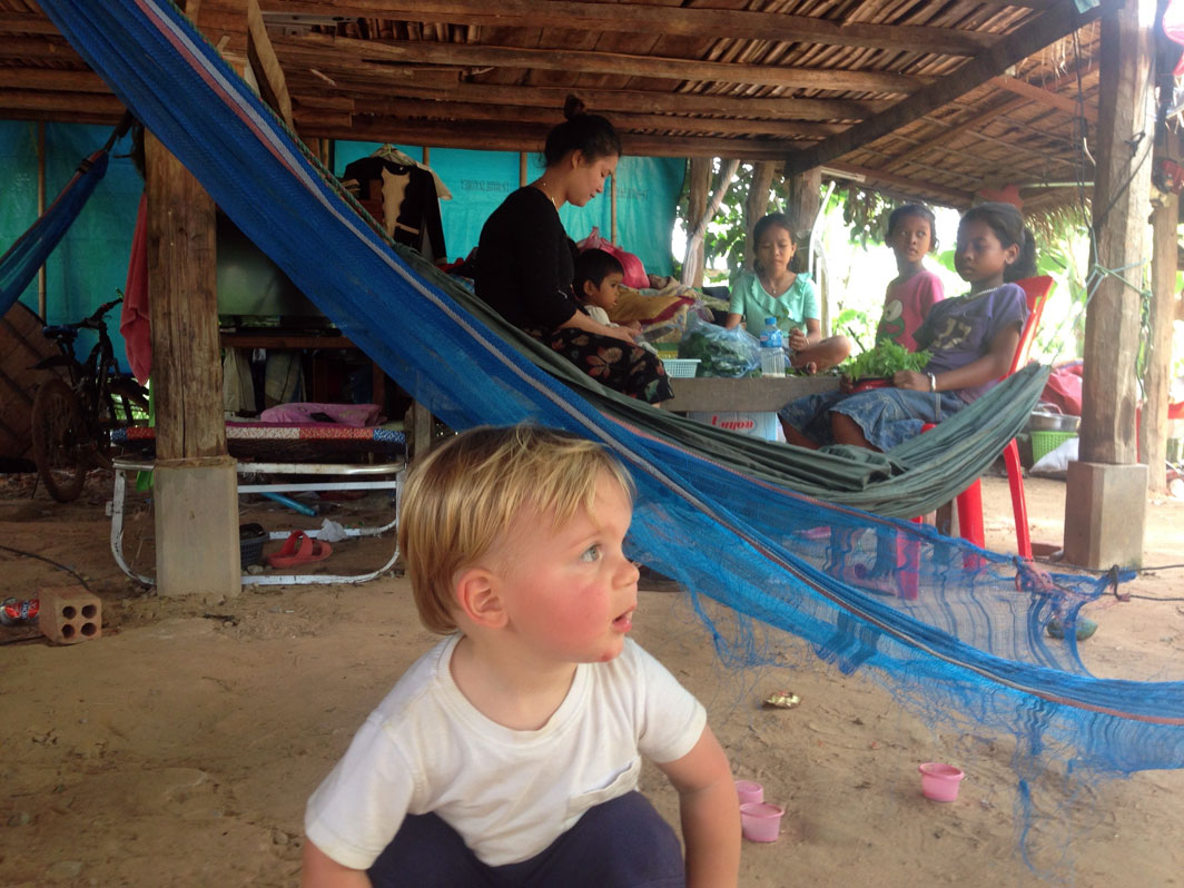 toddler cambodia siem reap family travel
