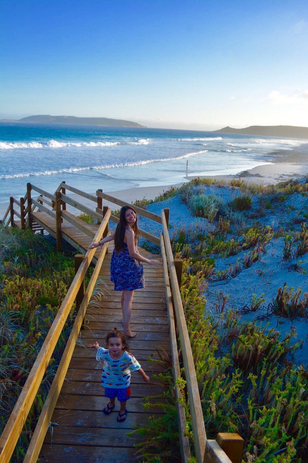 australia coast roadtrip with kids