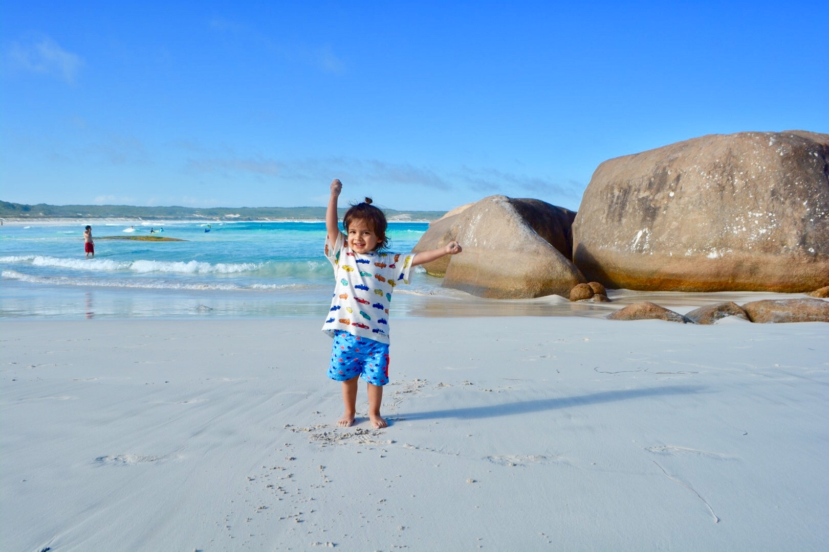 traveling with baby in Australia