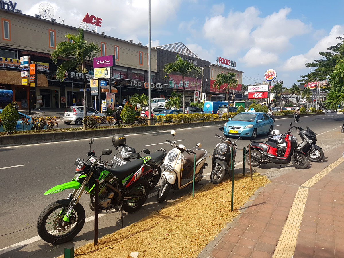 Seminyak bali indonesia eat street