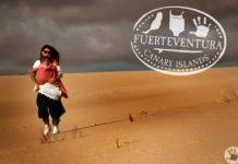 baby sand dunes dunas de corralejo fuerteventura canary islands