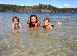 truth love parenting family travel gulf islands bc