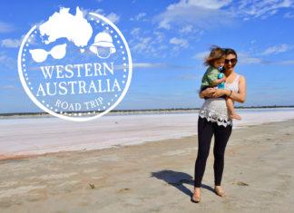 western australia family road trip beach mom baby passport stamp